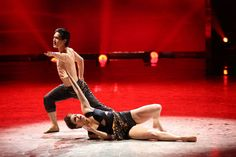 """Top 6 contestant Cole Horibe and all-star dancer Melanie Moore perform a Jazz routine to """"Too Close"""" choreographed by Sonya Tayeh on SO YOU THINK YOU CAN DANCE."""