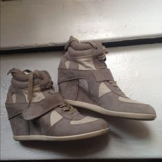 Ash wedge sneakers 9 Perfect condition two tone Ash Shoes Platforms