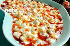Köz Patlıcanlı Makarna Salatası Tarifi nasıl yapılır? 259 kişinin defterindeki bu tarifin resimli anlatımı ve deneyenlerin fotoğrafları burada. Yazar: Mutfak Gülü