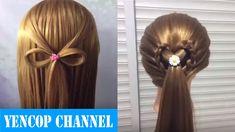 2 Peinados Faciles Y Rapidos Con Cabello Suelto Con Trenzas P3 | Peinado...