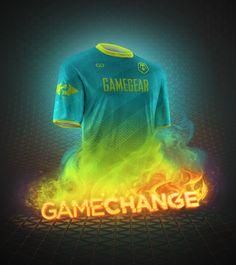 GAMEGEAR by CHAZ, via Behance Art Drawings, Behance, Neon Signs, Art Paintings