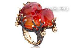 Перстень кольцо с Опалом №02309PE