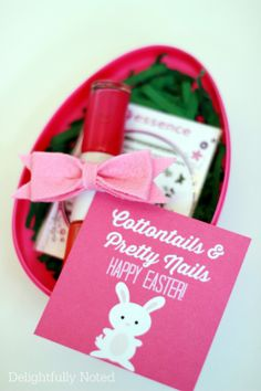 Teen Girl Easter Basket Idea: Easter Egg Nail Kit