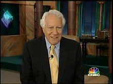 Louis Rukeyser, 1933-2006. TV journalist, financial analyst.