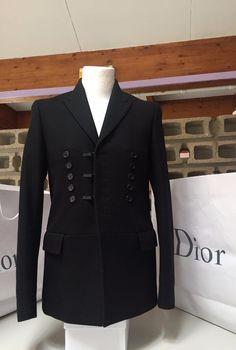 UltraRare Gorgeous Dior Homme Hedi Slimane AW06 SlimFit Peacoat Style   DiorHomme  Peacoat 6cc11655c1c