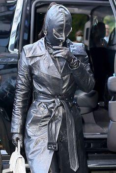 Kim Kardashian Dominatrix, Kim Kardashian, Nyc, Leather Jacket, Exploring, Jackets, Clothes, Fashion, Studded Leather Jacket