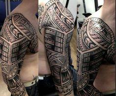 Polynesian by Sini Manu at Art and Soul Tattoo, Plymouth UK