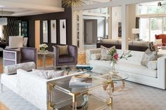 Beautiful, Modern Living Room designed by Jeff Mifsud