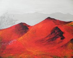 CultArs.com Mountains, Abstract, Artwork, Nature, Travel, Image, Painting Art, Voyage, Work Of Art