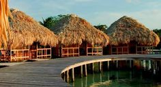 St. George's Caye Resort, Belize | room price includes all meals, airport transportation and more | kayaking, windsurfing, sailing, saline swimming pool with introductory SCUBA, snorkeling, horseback riding, hiking, ziplining, Myan ruins | check out honeymoon packages on website: http://belizeislandparadise.com/packages/romance