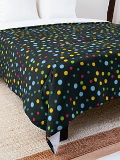 'Mixed Dot Pattern ' Comforter by Shane Simpson College Dorm Rooms, College Dorm Bedding, Make Your Bed, Square Quilt, Twin Xl, Quilt Patterns, Comforters, Dots, Blanket