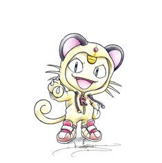 ItsBirdy - Meowth / Persian