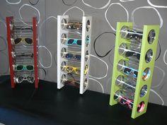 Wandregale - Brillenhalter/Brillenregal zur Wandbefestigung - ein Designerstück von Mikes-Brillenhalter bei DaWanda