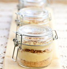 Peanut Butter Banana Cream Pie in a Jar