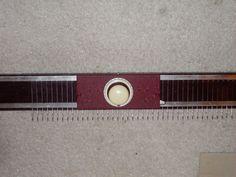 Vintage Bulky Knitting Machine Knittax Ribber