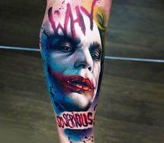 Joker tattoo by A.d. Pancho