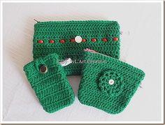 Pochettes au crochet By SyL'Art