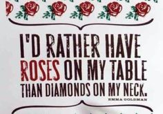 My name is Rose. So, if I sit on a table, can I still have some diamonds?