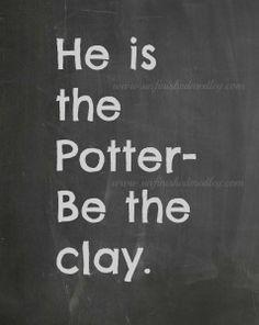 Chalkboard-Potter  #unfinishedmedley #chalkboard #christian #inspiration