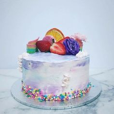 Stunning shot of a pretty little thing we made for @joannabridge's birthday!