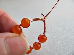 Wire and Bead Earring How-To | A Step-by-Step Wire Earring Tutorial | Handmadeology