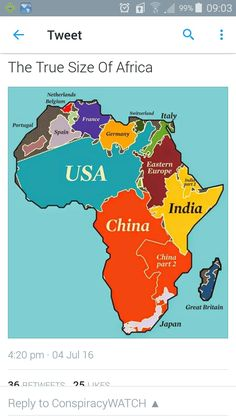 This funny world map shows what every country leads the world in nobody seems to realize how big africa is gumiabroncs Gallery