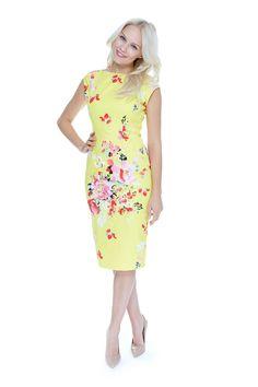 ee8de86a8f76da Classic Shift Lemon Seville Dress - view 4