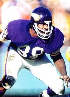 Alan Page - Minnesota Vikings - DT Would have been the #1 Viking if had not gone to Chicago. Bud Grant didn't want Page to play at only 218 lbs.