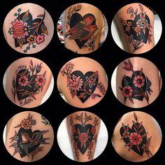 ElectricTattoos — Leonie New Time Tattoos, Body Art Tattoos, Sleeve Tattoos, Cool Tattoos, Tatoos, Traditional Heart Tattoos, Traditional Tattoo Flowers, 1 Tattoo, Piercing Tattoo