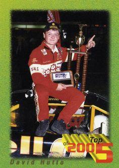 RARE 1995 REDLINE BENNY PARSONS PICKS TOP 5 DAVID HUTTO NASCAR RACING MINT