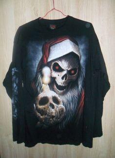 t shirt manches longues SPIRAL  / Noir / 4 (XL) FR / Coton / Toutes saisons