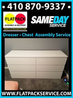 Dresser Assembly Service - Choose The Right Assembler • 301 971-7219 • Best in Class • Amazon #1 Furniture Assembly Services - Free Consultation & Quote • Flatpack Assembly • 202 277-5911 • The 10 Best Furniture Assembly Services in Baltimore, MD 2020 • Same Day Service • GOOGLE THE BEST 10 Furniture Assembly in Baltimore, MD - Last • Dressers • Chests • Flatpack Assembly • Assembly Service – IKEA • 703 828-7504 • RaskTabbit • On-line Booking • FLATPACKSERVICE.COM • Dresser Assembly service Chest Dresser, Dresser Furniture, Dressers, Cool Furniture, Best Ikea, Furniture Assembly, Baltimore, Quote, Dresser