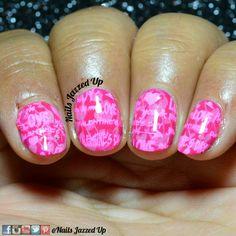 Pink for #glamnailschallengefeb