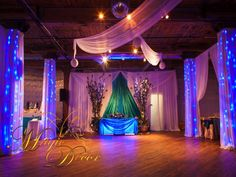 magicdecor transform this beautiful venue.