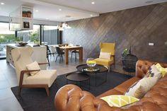 Molins Interiors // arquitectura interior - interiorismo - decoración - cocina - kitchen - sala de estar - living room - chester - sofá - butaca - armchair
