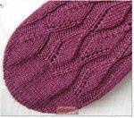 Free - Toe-up Rounded Toe Chart (& written instructions) pattern by Tanja Murray Sponsored By: Grandma's Crochet Shop Loom Knitting, Knitting Socks, Knitting Stitches, Free Knitting, Crochet Socks, Knit Or Crochet, Knit Socks, How To Purl Knit, Knitting Patterns