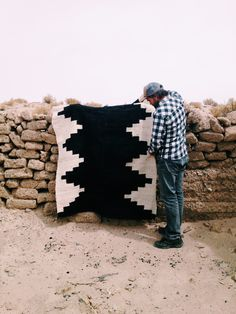 Handwoven rugs from Argentina by Pampa