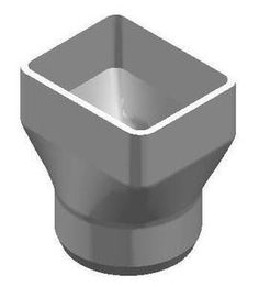 """The Drainage Products Store - PVC 4"""" x 5"""" x 4"""" SDR35 Downspout Adapter (Centered) (DSA x Spigot), $15.89 (http://stores.drainageproducts.us/pvc-4-x-5-x-4-sdr35-downspout-adapter-centered-dsa-x-spigot/)"""