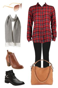 e16074fbd5cb7 Here is our  ootd! We chose  flannel paired with leggings to help kick