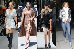 Gigi Hadid: Street Style - The 2016 Best Style Moments from the Trendiest Models  - Photos