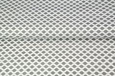 Stenzo poplin fantasy golfjes in diverse kleurtjes Stoff Design, Fantasy, Stark, Poplin, Grey And White, Bees, Sewing Patterns, Cotton, Imagination