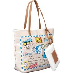 Nine West Postcard Tote List Price:$79.00 Price:$53.99 & FREE Shipping and Free Returns