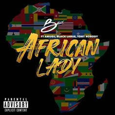 """Cameroonian International starBikai unveils the visuals for his Afro-centric single titled """"African Lady""""featuring Tony Nobody, Black Larue and Amugu."""