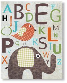 Baby nursery print childrens art print kids room by GalerieAnais, $14.00