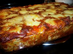 Lasagna from Scratch –  Once you've tasted homemade lasagna and the multitude of savory spices and rich cheeses; not to mention the aroma of it baking in the oven, or the sight of it oozing from the pan; you'll know the difference between homemade and everything else.
