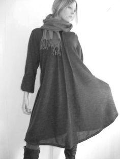 corey&co wool dress, worn by Erin