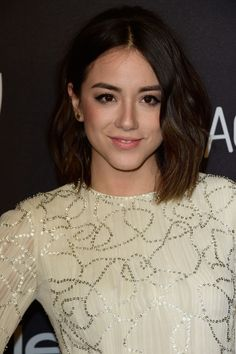 Chloe Bennet at the 2016 InStyle & Warner Bros. Golden Globes After-Party. http://beautyeditor.ca/2016/01/15/golden-globes-after-parties-2016