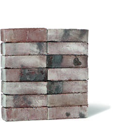 Wiesmoor Coal White Grey And White, Brick, Bricks