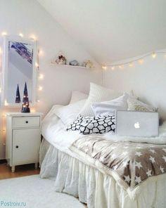 Tips para tener una habitación completamente blanca