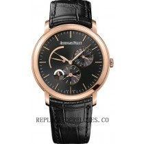 Audemars Piguet Jules Audemars Hombres hora dual reloj 26380OR.OO.D002CR.01